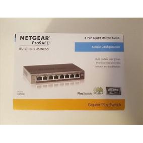 Netgear Gs108e-100pes Prosafe Plus Switch De 8 Puertos Gigab