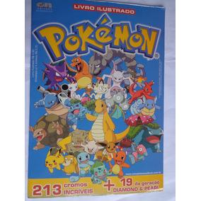 Álbum Pokemon Editora On Line 2008 Vazio Mais 15 Pacotinhos