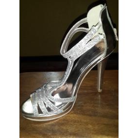 89784fc1 Sandalias De Fiesta Plateadas Qupid - Zapatos Mujer Sandalias en ...