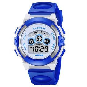 3b8ad206f89 Relógio Para Criança Meninos Meninas De Pulso Infantil Azul
