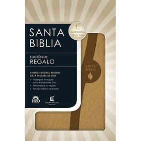 Biblia Edición De Regalo Nbd Imitación Piel Beige 279b78bfa7186
