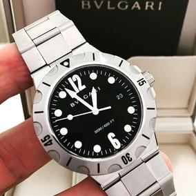 7d4a8a56391 Leilo Relogio Bvlgari Diagono Professional Chronometer - Relógios ...