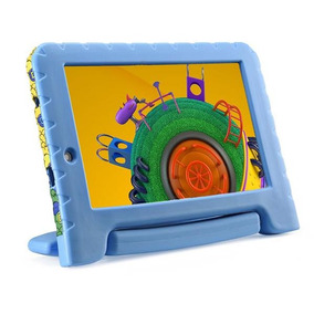 Tablet Infantil Com Capa Wifi Android 7 Discovery Kids