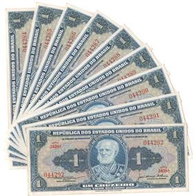 Cedulas /série 9 (nove) Fe - Cruzeiro - 1ª Reforma Monetária