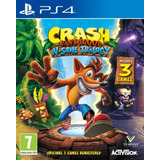 Crash Bandicoot Sane Trilogy Usado Ps4