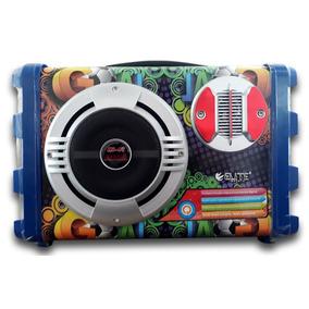 Mini Caixa Amplificada Portátil Elite El-11bta - Promoção