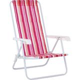 Cadeira De Praia 4 Posições Adulto Mor Un/1