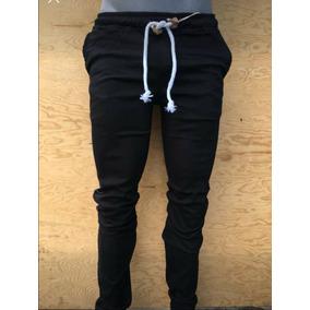Joggers Mezclilla Negro Hombre - Ropa 0e738fb5aee