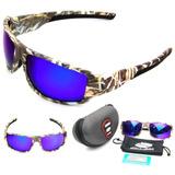 Oculos Polarizado Pesca Queshark Ñ Blackmonster + Brinde d2d920e8ec