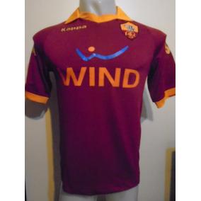 Camiseta Roma Italia Kappa 2012 2013 Totti  10 Selección M a76a76a3e016a