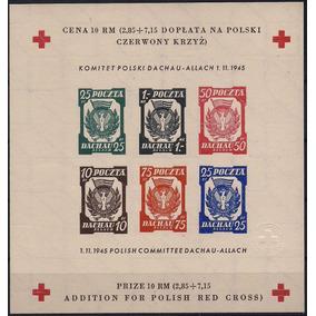 Cruz Vermelha - Campo De Dachau-allach - Bloco S13 - Nnn