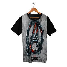 Camiseta Camisa Avengers 8