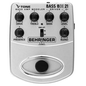 Pedal Contrabaixo V-tone Bass Bdi21 Behringer