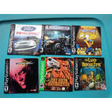 Lote Manuales Juegos Playstation, The King Of Figthers, Duke
