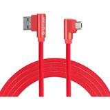 Cable En L Microusb V8 Brightside Carga Rápida 2.4a 1 Metro