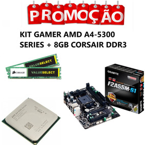 Kit Gamer Gigabyte Amd A4-5300 + 8gb Ddr3 + Cooler