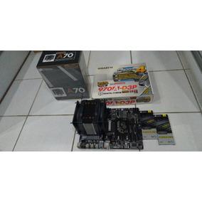 Kit 970a-d3p + Amd Fx8350 + 4x4gb Ram Vengeance Ddr3 1600mhz