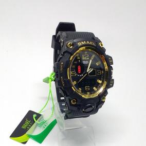 Relógios Masculino 1545 Digital E Analógico + Brinde, Barato