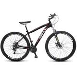 Bicicleta Abba Mtb Aro 29 21 Marcha Suspensão Dianteira E F