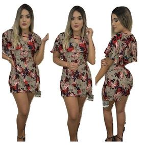 Kit 10 Macaquinhos Vestidos Conjuntos Sais E Short Variados