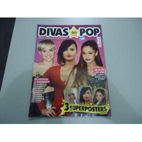 Revista Divas Do Pop Nº 1 - Miley Ariana Selena Demi Katy