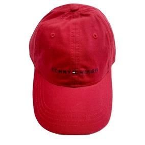 Tommy Hilfiger Gorra Rojo Logo 100% Original Oferta