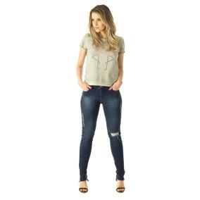 Cigarrete Jeans Skinny Blue Fem 58 - Clb5497 - Clb5497