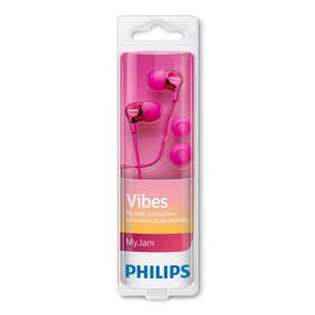 Fone De Ouvido Intra-auricular She3700pk/00 Rosa Philips
