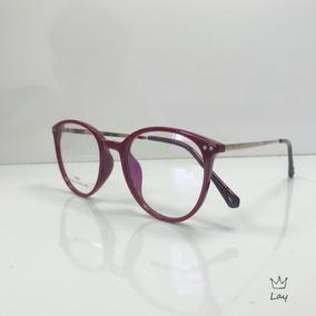 c5103a3c4721e Oculos Redondo Kpop - Óculos Terracota no Mercado Livre Brasil