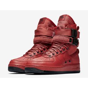 Nike Sf Air Force 1 Oxy Blood Af1 Botas Mayma Sneakers