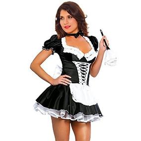 Disfraz De Mucama Francesa Halloween Talla L Marca Jj-gogo 66928612aeee
