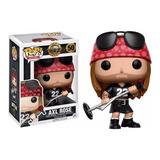 Funko Pop Axl Rose #50 Guns N Roses Rocks Firewolf
