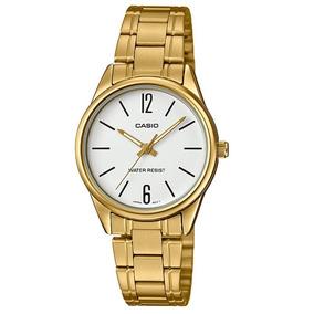 4a52c6dd59af0 Relogio De Pulso Casio Dourado Fundo Branco - Relógios De Pulso no ...