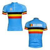 4529e5e7bb Camisa Ciclismo Belgica - Ciclismo no Mercado Livre Brasil