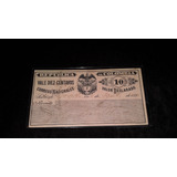 Vale Por 10 Centavos Año 1895 Optimas Condiciones