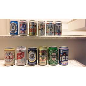 Latas De Cervejas Importadas Da Década De 90