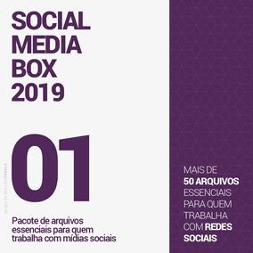 Pacote Para Facebook, Instagram, Whatsapp. Social Media Box.