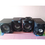Equipo De Sonido Sony Genezi Mhc Ex99 470w