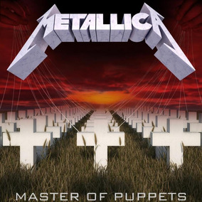 Cd Metallica - Master Of Puppets - Remasterizado