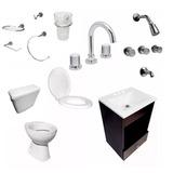 Kit Accesorios Para Ba Os Loza Para Atornillar - Todo para Baños en ... 623a16f97b7c