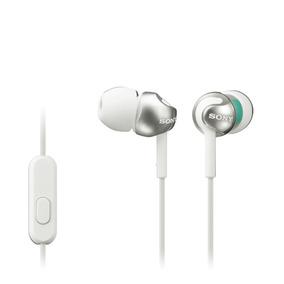 Audífonos Interno Sony Mdrex110ap Con Control Remoto Blanco