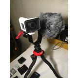 Sony Fdr X3000 Con Equipo Completo Para Vlogear O Proyectos