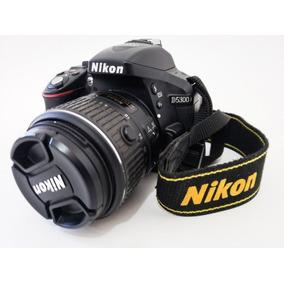 Câmera Nikon D5300 24,2 Mp-wi-fi+lente Dx Vr 18-55mm 3.5-5.6