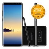 Samsung Galaxy Note 8 N950f 64gb Dual 12mp Preto Vitrine 1