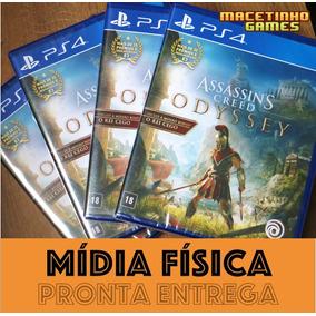 Assassins Creed Odyssey Ps4 Mídia Física Lacrado + Dlc Bonus