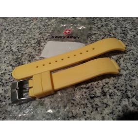 Pulsera Amarilla Reloj Swiss Army Nueva Original