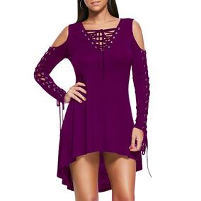 Vestido De Encaje Negro Fondo - Vestidos de Mujer Fucsia en Mercado ... 8f754da11948