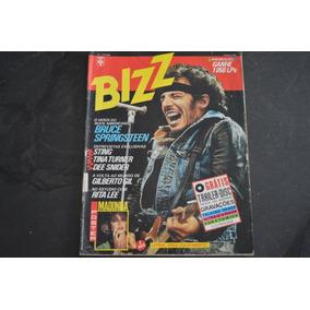 Bizz 1 Bruce Springsteen Revista Poster Madonna