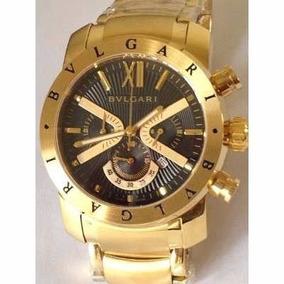 2506bc3949498 Relógio Bvlgari Fundo Preto - Relógios no Mercado Livre Brasil