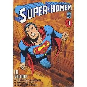 Super-homem Nº 1 - 1ª Série Ed Abril